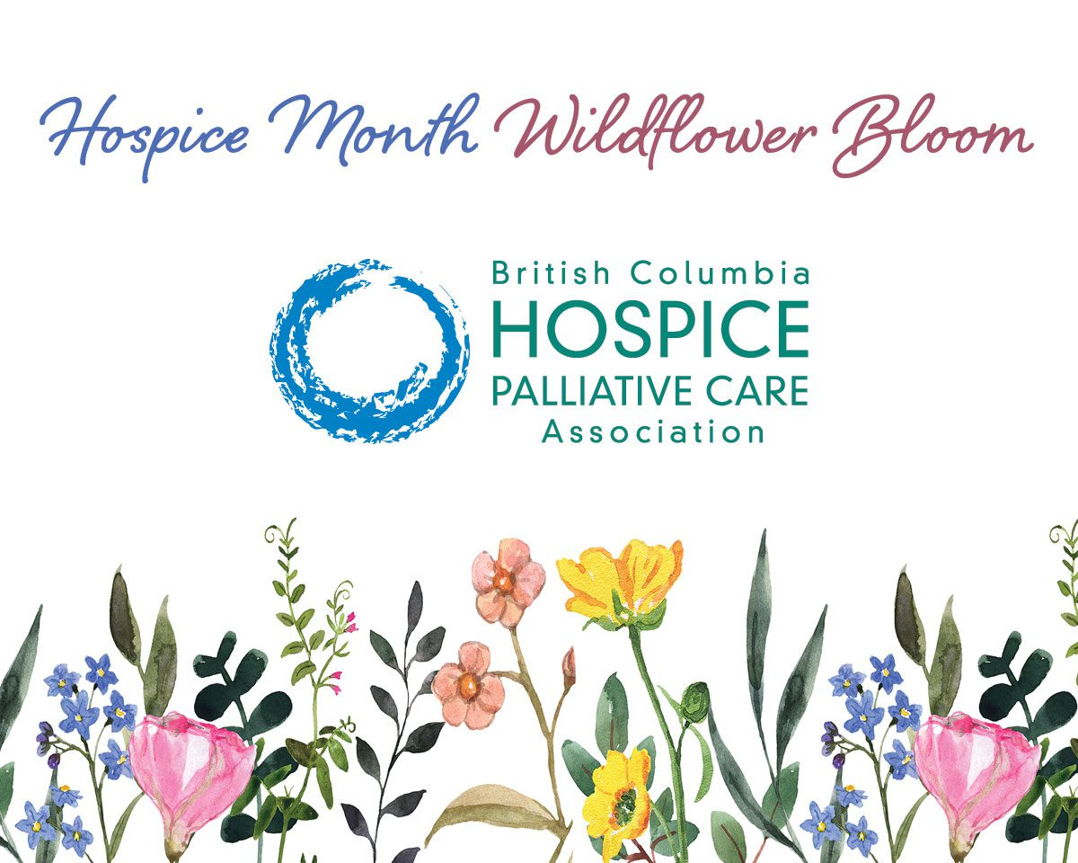 BCHPCA Hospice Month Wildflower Bloom Campaign