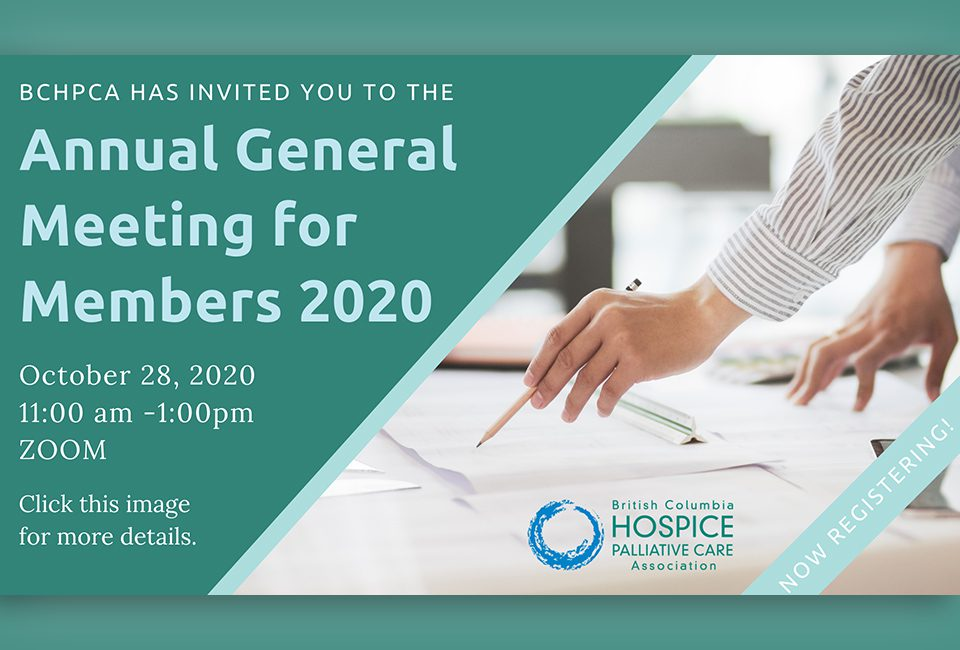 Annual General Meeting for Members 2020