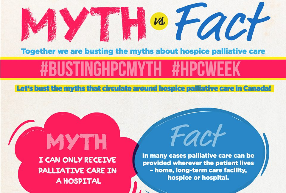 Let's bust the myths about Hospice Palliative Care!